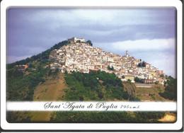 (FG) SANT'AGATA DI PUGLIA, PANORAMA - Cartolina Nuova - Other Cities