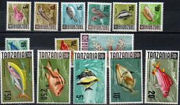 TANZANIE 1967 ** 14 VAL. - Tanzania (1964-...)