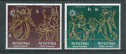 AITUTAKI  -  Yvert N° 188  à  191  **  4 Valeurs Neuves Sans Charnière    -  AA 19402 - Aitutaki