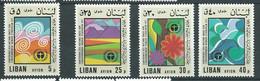 Liban -  Yvert N° 628 à  631 **   4 Valeurs Neuves Sans Charnière   -  AA 19509 - Lebanon