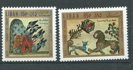 Liban -  Yvert N° 516 à  517 **   2 Valeurs Neuves Sans Charnière   -  AA 19511 - Lebanon