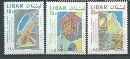 Liban -  Yvert N° 481 à  483 **   3 Valeurs Neuves Sans Charnière   -  AA 19510 - Lebanon