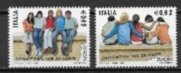 Italie 2006 N° 2871/2872 Neufs Europa L'intégration - 2006