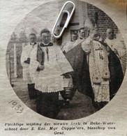 WAARSCHOOT..BEKE..1933.. PLECHTIGE WIJDING DER NIEUWE KERK / MGR. COPPIETERS BISSCHOP VAN GENT - Unclassified