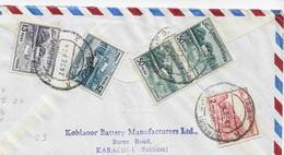 3606  Carta Aerea , Certificada ,Karachi  1964 - Pakistan