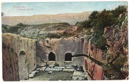 ASIE ISRAËL JERUSALEM : TOMBEAUX DES ROIS - CIRCULEE - Israel