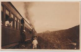 Post Card  Foto  (Ecuador)  Ferrocaril Railway  Photo Prise Dans Environs De Guayaquil   Circa 1910 - Ecuador