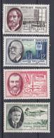 N° 1095 à 1098 Savants Et Inventeurs : Beau  Timbre  Neuf Impeccable Sans Charnière - Unused Stamps