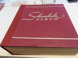 Altes  Dickes  6 Kg. SCHAUBEK - ALBUM  Mit Ein Posten  O /  * /  MARKEN - Verzamelingen (in Albums)