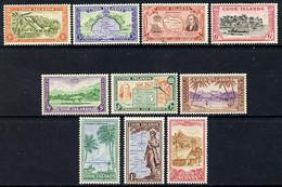 Cook Islands 1949-61 KG6 Definitive Set Complete 10 Values U/m SG 150-59 - Cook Islands