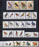 Cook Islands - Aitutaki 1981 Birds  #1 Complete Set Of 36 U/m, SG 317-52* - Cook Islands
