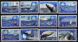 Cook Islands - Aitutaki 2013 Whales & Ships Definitive Perf Set Of 12 Values U/m - Cook Islands