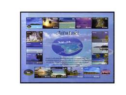 Cook Islands - Aitutaki 2011 Tourism Perf Sheetlet 15 Values U/m - Cook Islands