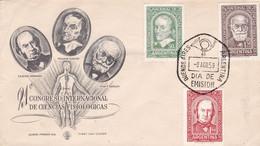 ARGENTINA. 21º CONGRESO INTERNACIONAL DE CIENCIA FISIOLOGICAS. 1959, FDC ENVELOPPE. PHYSIOLOGIE PHYSIOLOGY- LILHU - Other