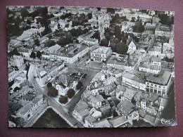 CPA CPSM PHOTO 52 ST SAINT DIZIER Vue Aérienne Place Aristide Briand Théatre Et Hotel De Ville 1953 - Saint Dizier