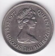 Gibraltar 25 Pence 1977 Jubilé D'argent Elizabeth II  1952 – 1977 Cupronickel , KM# 10 - Gibraltar