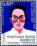 "2021 ""Art In Montenegro Through The Centuries - Svetlana Kana Radević"", Montenegro, MNH - Montenegro"