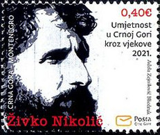 "2021 ""Art In Montenegro Through The Centuries - Živko Nikolić"", Montenegro, MNH - Montenegro"