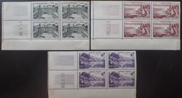 R1507/495 - 1959 - SERIE TOURISTIQUE (COMPLETE) - N°1192 à 1194 NEUFS** CdF Avec CD - 1950-1959