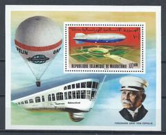 Mauritanie YT Bloc 15 Neuf Sans Charnière XX MNH Zeppelin Aviation - Mauritania (1960-...)
