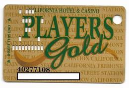 California Casino, Las Vegas, Older Used Slot Or Player's Card, # California-1 - Cartes De Casino
