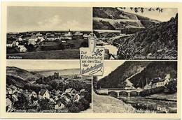 Dasburg / Daleiden / Herzley / Deutsches Zollamt (Mehrbildkarte) - Zur Erinnerung An Den Bau Der Westbefestigung - Other
