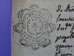 """1788 Généralité De LYON Papier Timbre N°237 De """"D.F. 1SOL 5D 1/2"""" PRAIRE Contre JARIE Négociants à Saint-Etienne Loire - Seals Of Generality"""