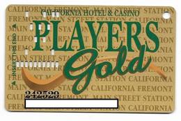 California Casino, Las Vegas, Older Used Slot Or Player's Card, # California-2 - Cartes De Casino