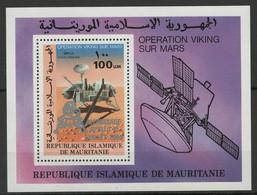 Mauritanie YT Bloc 26 Neuf Sans Charnière XX MNH Espace Space - Mauritania (1960-...)