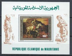 Mauritanie YT Bloc 28 Neuf Sans Charnière XX MNH Art Rembrandt - Mauritania (1960-...)