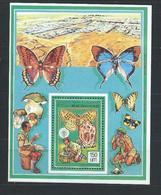 Mauritanie YT Bloc 56 Neuf Sans Charnière XX MNH Papillon Butterfly Scoutisme - Mauritania (1960-...)