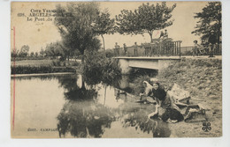 ARGELES SUR MER - Le Pont Du Grau (lavandières ) - Argeles Sur Mer