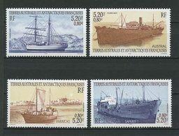 TAAF 2001 N° 302/305 Neufs MNH Superbes C 16 € Bateaux Vieux Gréments Carmen Austral Voiliers Sailboats Ships - Neufs