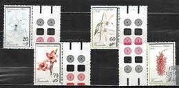 Vanuatu 1991 Mi 864-867 Orchids - MNH - Vanuatu (1980-...)