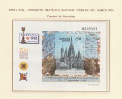 1998, Exfilna S/s ** Mi B72 - 1991-00 Nuevos & Fijasellos