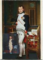 BHUTAN CARTE MAXIMUM L'EMPEREUR NAPOLEON 1er PAR DAVID - Napoleon