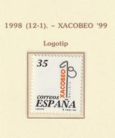1998, Holy Year Of Compostela 1v ** Mi 3366 - 1991-00 Nuevos & Fijasellos