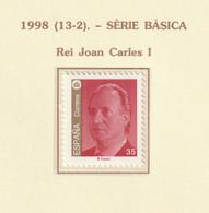 1998, Menorca, UNESCO 1v ** Mi 3370 - Juan Carlos I - 1991-00 Nuevos & Fijasellos