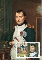 RAS AL KHAIMA CARTE MAXIMUM L'EMPEREUR NAPOLEON 1er PAR DAVID AVEC OBLITERATION RAS AL KHAIMA 9-6-69 - Napoleon