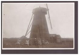 Windmill Windmühle Ca 1920 Old Photo Postcard - Estonia