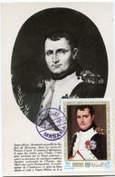 MANAMA CARTE MAXIMUM NAPOLEON 1er AVEC OBLITERATION MANAMA 1 NOV 1971 - Napoleon