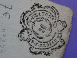 """1788 Généralité De LYON Papier Timbre N°237 De """"D.F. 1SOL 5D 1/2"""" PERREYRE & Compagnie Négociant à Lyon (Rhône) - Seals Of Generality"""