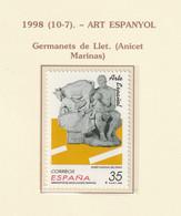 1998, A. Marinas 1v ** Mi 3392 - Hermanitos De Leche - 1991-00 Nuevos & Fijasellos