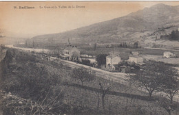 (183)  CPA  Saillans  La Gare  (Bon état ) - Other Municipalities