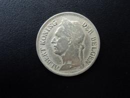 CONGO BELGE * : 1 FRANC   1928 / 6    CMB 78a ** / KM 21     TTB - 1910-1934: Albert I