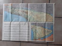 ISRAËL PALESTINA AFMETINGEN 60 CM OP 45 CM - Non Classificati