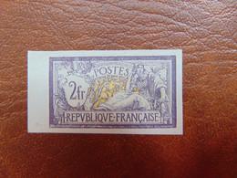 N° 122 (*)   Cote 1 750€  Signé Calves. - Imperforates
