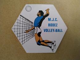 AUTOCOLLANT STICKER - M.J.C. RODEZ VOLLEY-BALL – SPORT – CLUB SPORTIF - Stickers