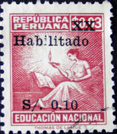 Peru - 1966 - Mi:PE Z45, Sn:PE 501B, Yt:PE B5 O - Look Scan - Peru