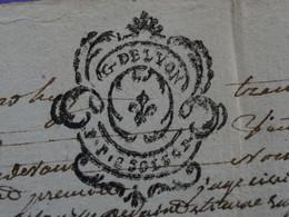 """1788 Généralité De LYON Papier Timbre N°238 De """"P.P. 2SOLS 4D."""" Claude Berthon + Jacob Marchands à Saint-Etienne (Loire) - Seals Of Generality"""